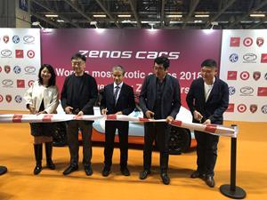 CEO, Mr. Simon Ming Fat WU (Second Left) and Ken Okuyama (Second Right)