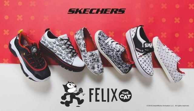 Felix the Cat gets a Skechers sneaker collection for his 100th birthday