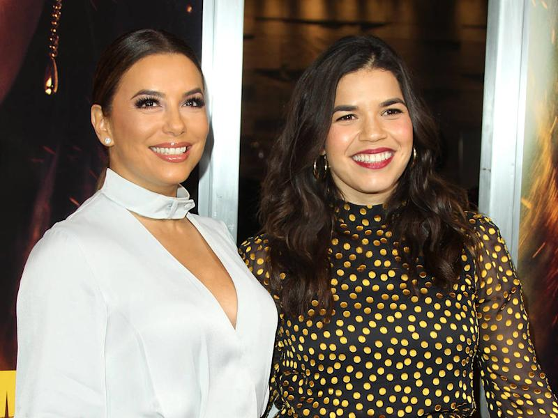 America Ferrera & Eva Longoria among stars signing letter in support of Latino community