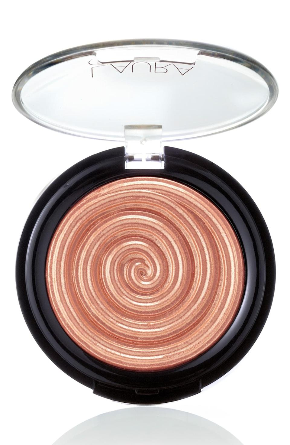 <p>The formula of the <span>Laura Geller Beauty Baked Gelato Swirl Illuminator</span> ($26) blends in seamlessly with your skin, giving you a natural-looking highlight everyone will compliment.</p>