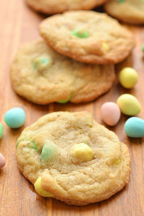 """<p>Your favorite Easter candy gets a starring role in this seasonal sugar cookie that's sure to delight.</p><p><em><a href=""""http://onelittleproject.com/mini-egg-cookies/"""" rel=""""nofollow noopener"""" target=""""_blank"""" data-ylk=""""slk:Get the recipe from One Little Project »"""" class=""""link rapid-noclick-resp"""">Get the recipe from One Little Project »</a></em> </p><p><strong>RELATED: </strong><a href=""""https://www.goodhousekeeping.com/holidays/easter-ideas/g2367/easter-candies/"""" rel=""""nofollow noopener"""" target=""""_blank"""" data-ylk=""""slk:20+ Best Easter Candies to Buy in 2020"""" class=""""link rapid-noclick-resp"""">20+ Best Easter Candies to Buy in 2020</a></p>"""