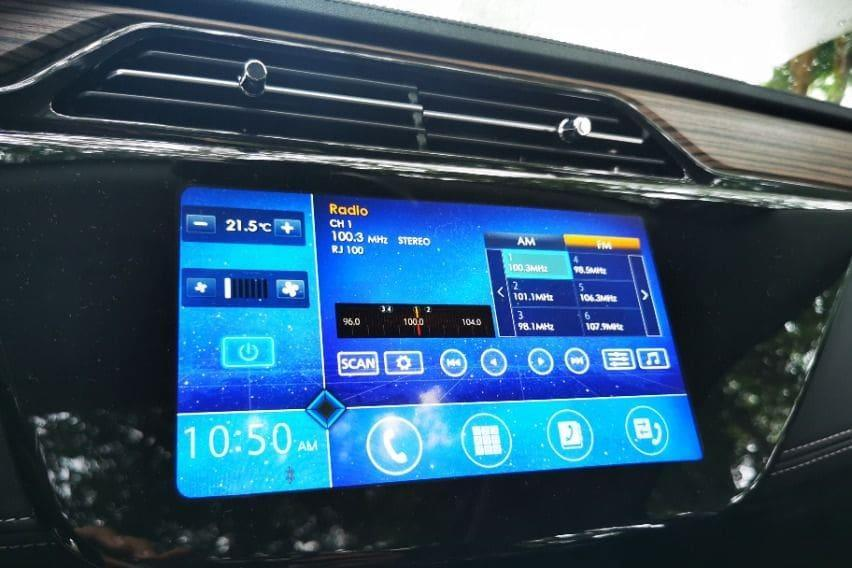 Ford Territory's infotainment system
