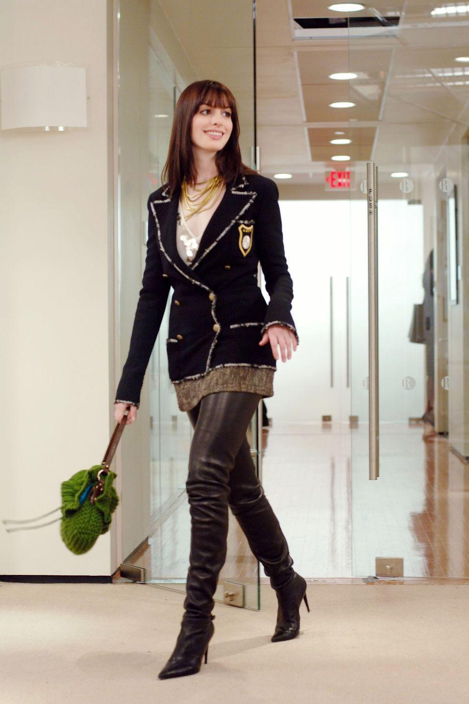 """<p><em>""""Are you wearing the Cha—""""</em></p><p><em>""""</em><em>Chanel boots? Yeah, I am.""""</em></p><p>Because every good fashion makeover starts with thigh-high Chanel boots.</p>"""