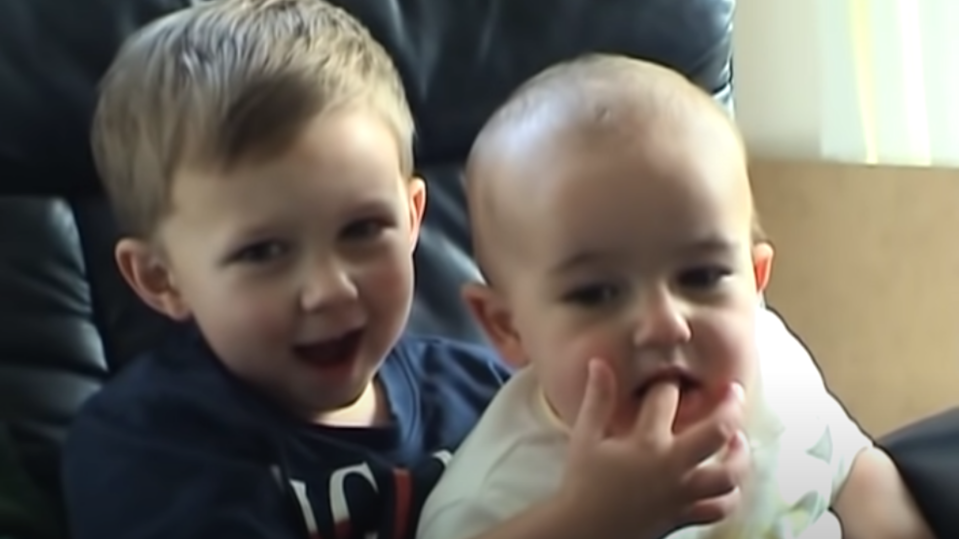 The famous video will remain on YouTube. (Image: Youtube - Charlie Bit My Finger).