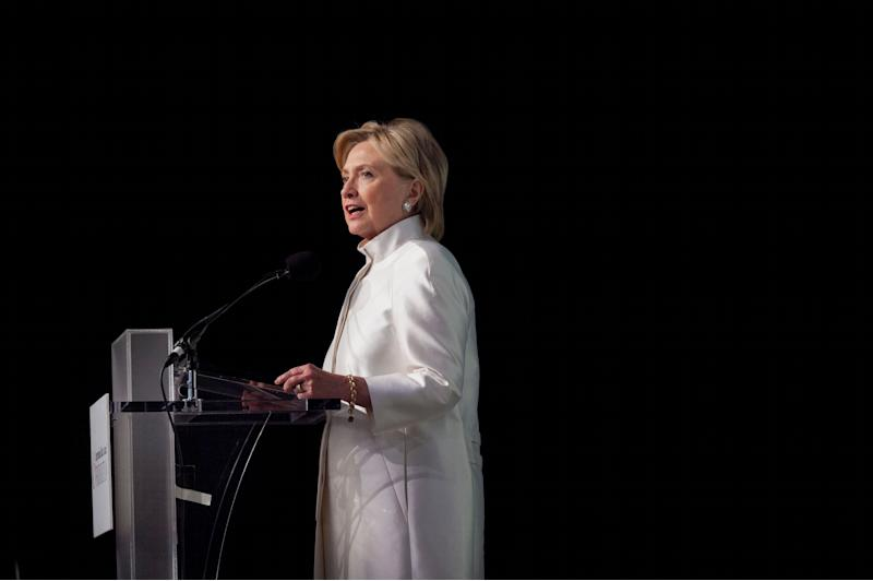 """In December, Trump mocked Clinton for being a few minutes late returning to the stage during a Democratic debate <a href=""""http://edition.cnn.com/2015/12/21/politics/donald-trump-hillary-clinton-disgusting/"""" target=""""_blank"""">saying</a>,&nbsp;""""I know where she went, it's disgusting, I don't want to talk about it."""" It's not the first time Trump has expressed revulsion at women needing to occasionally go to the bathroom, telling Howard Stern in 2004 that <a href=""""https://www.buzzfeed.com/andrewkaczynski/trump-isnt-into-anal-melania-never-poops-and-other-things-he?utm_term=.tdy1yRdOz#.pi34j2GVr"""" target=""""_blank"""">it was amazing</a>&nbsp;he'd never seen any evidence that Melania Trump actually poops."""