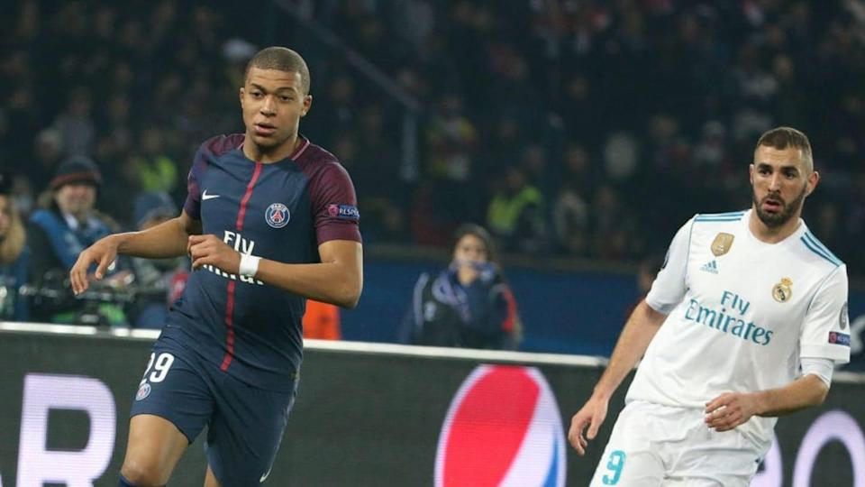 Benzema y Mbappé   Jean Catuffe/Getty Images