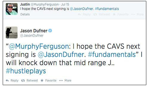 Tweets from Jason Dufner