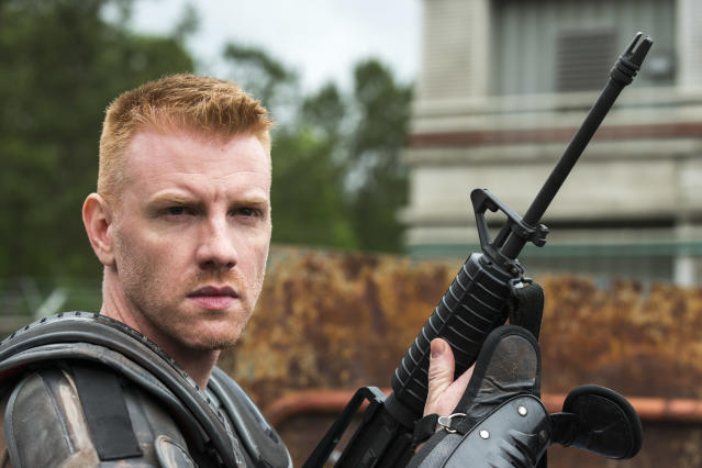 <p>Daniel Newman as Daniel in AMC's <i>The Walking Dead</i>.<br>(Photo: Gene Page/AMC) </p>