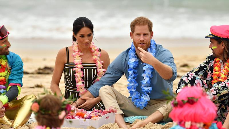 Harry urges Meghan to 'pace herself' during royal tour