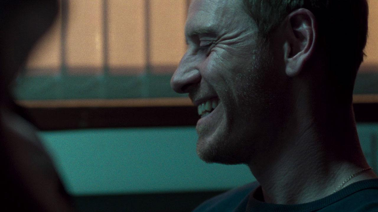 Michael Fassbender in 'Trespass Against Us' (Credit: Lionsgate)