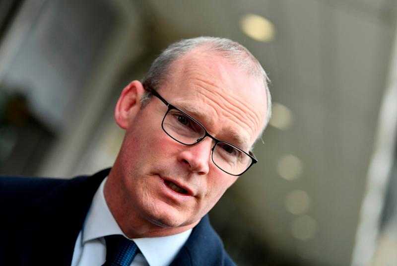 Simon Coveney, Ireland's foreign minister (AFP via Getty Images)