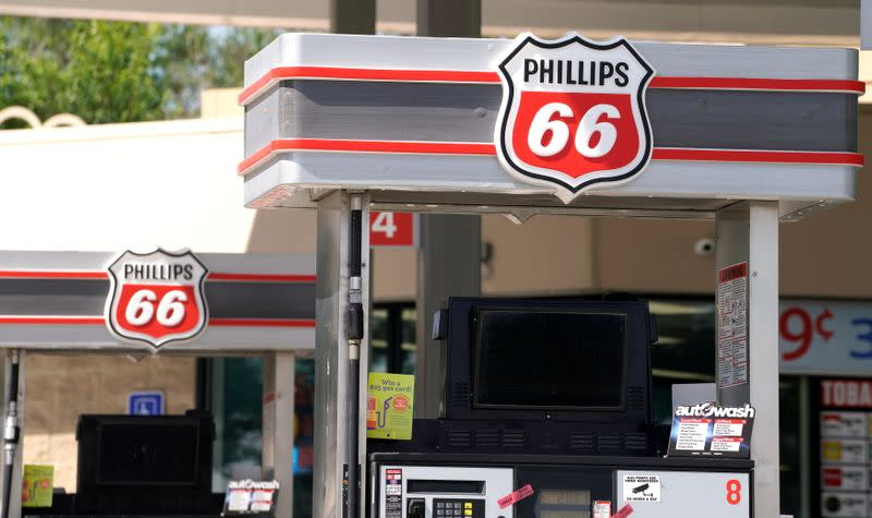 FILE PHOTO: The Phillips 66 gas station in Superior
