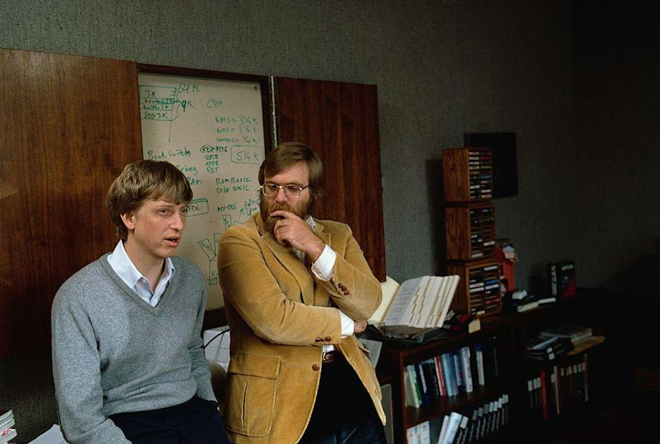 <p>44 years ago, Bill Gates and Paul Allen founded Microsoft in Albuquerque, New Mexico. Arguably the best thing to come out of New Mexico other than the breakfast burrito, Microsoft has ballooned into a trillion dollar corporation and rendered Bill Gates with a net worth around $107 billion.</p>