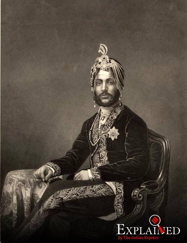 Maharaja Duleep Singh, Congress MP Pratap Singh Bajwa, Pratap Singh Bajwa says exhume remains of Maharaja Duleep Singh, Maharaja Duleep Singh last king of Sikh empire, Maharaja Ranjit Singh, Maharaja Ranjit Singh son, indian express explained, koh-i-noor diamond