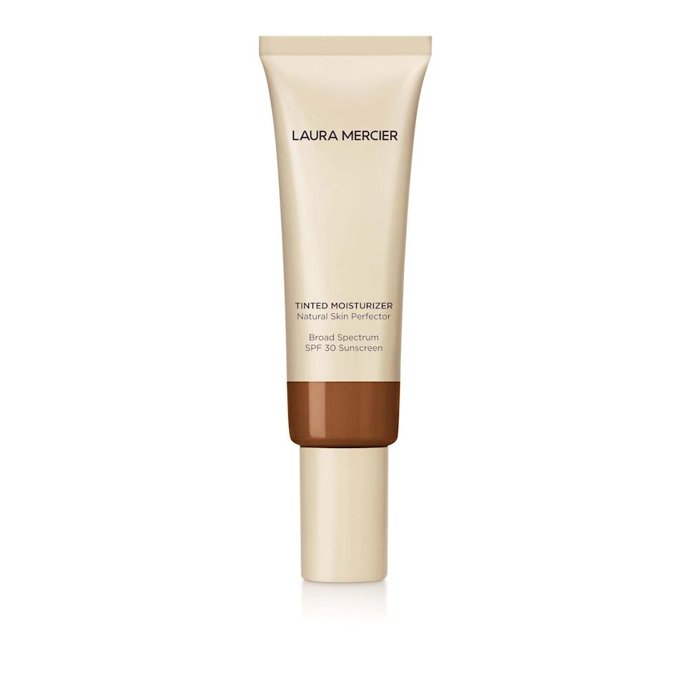 "<p>Laura Mercier's fan-favorite tinted moisturizer, now in an updated formula that provides up to 24-hour hydration.</p> <p>Buy: $47; <a href=""https://click.linksynergy.com/deeplink?id=93xLBvPhAeE&mid=2417&murl=https%3A%2F%2Fwww.sephora.com%2Fproduct%2Ftinted-moisturizer-broad-spectrum-P109936%3Ficid2%3Dproducts%2520grid%3Ap109936%3Aproduct&u1=SL%2CRX_1908AugustBeautyLaunches_LauraMercierTintedMoisturizerNaturalSkinPerfectorBroadSpectrumSPF30%2Cpshannon1271%2C%2CIMA%2C633011%2C201908%2CI"" rel=""nofollow noopener"" target=""_blank"" data-ylk=""slk:sephora.com"" class=""link rapid-noclick-resp"">sephora.com</a></p>"