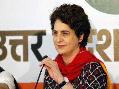 Priyanka Gandhi hits out at Centre over decline in GDP on Twitter, asks 'when will the government open its eyes?'