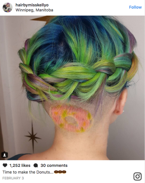 hidden pizza hair is what dreams are made of, Human Body