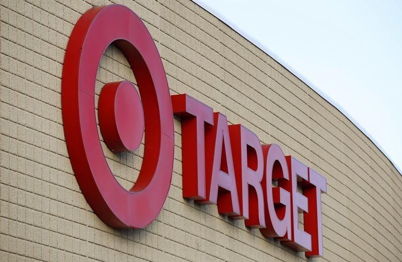 The exterior of a Target store is seen in the Chicago suburb of Evanston, Illinois
