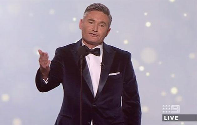 Dave Hughes ruffled feathers with this joke. Photo: Nine