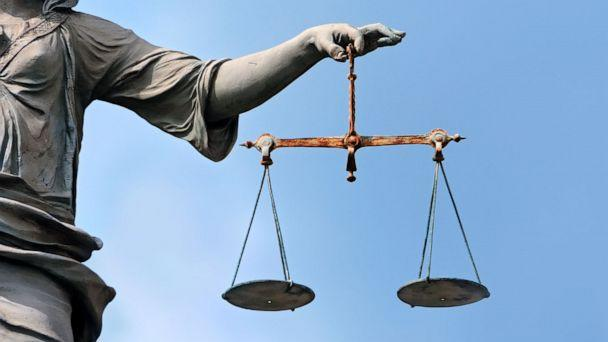 PHOTO: The scales of justice are held by a statue in an undated stock image. (STOCK IMAGE/Getty Images)