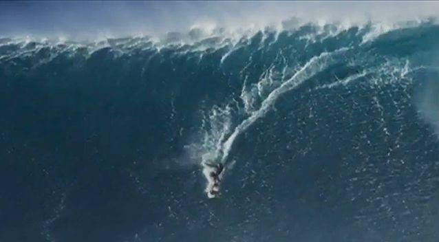 Today Bethany Hamilton is still tackling some of the biggest waves, and the biggest stars, in surfing. Photo: The Morning Show