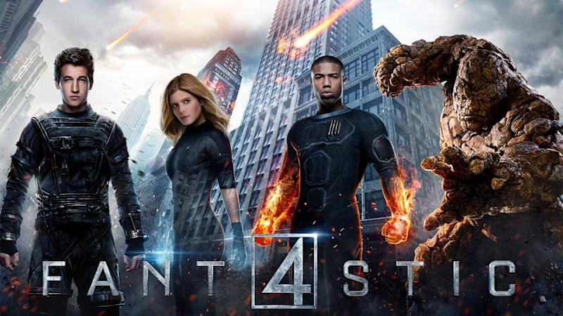 Miles Teller, Kate Mara, Michael B Jordan, and Jamie Bell as the Fantastic Four (20th Century Fox)