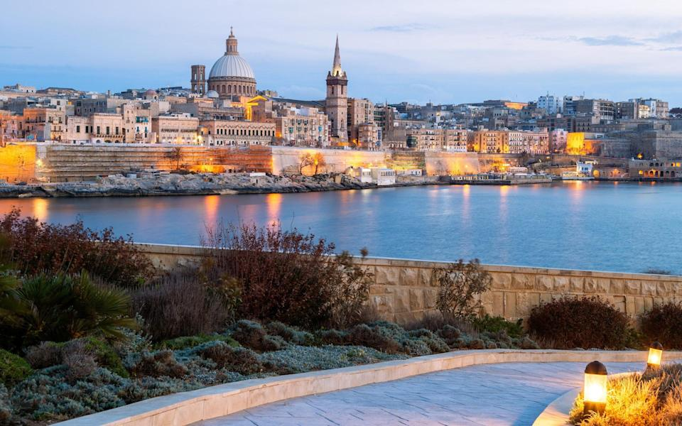 A view of Valletta, Malta's capital - Getty