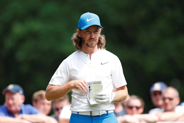 Golf - European Tour - BMW PGA Championship - Wentworth Club, Virginia Water, Britain - May 26, 2018 England's Tommy Fleetwood during the third round Action Images via Reuters/Peter Cziborra