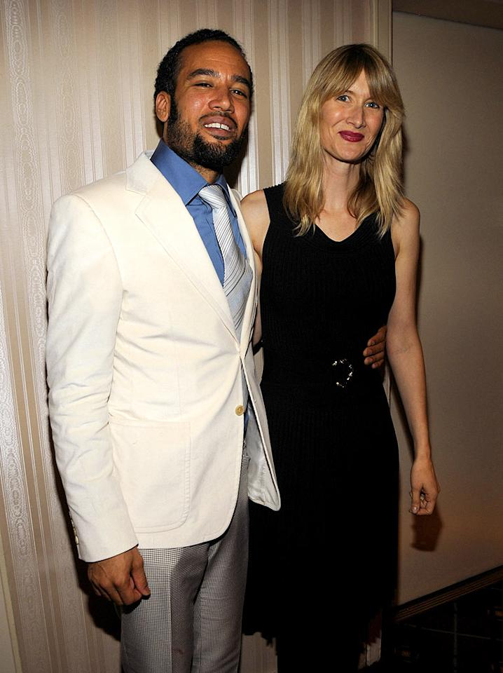 "The debonair Ben Harper and his talented wife Laura Dern (""Jurassic Park"") arrive in style. Kevin Mazur/<a href=""http://www.wireimage.com"" target=""new"">WireImage.com</a> - March 10, 2008"