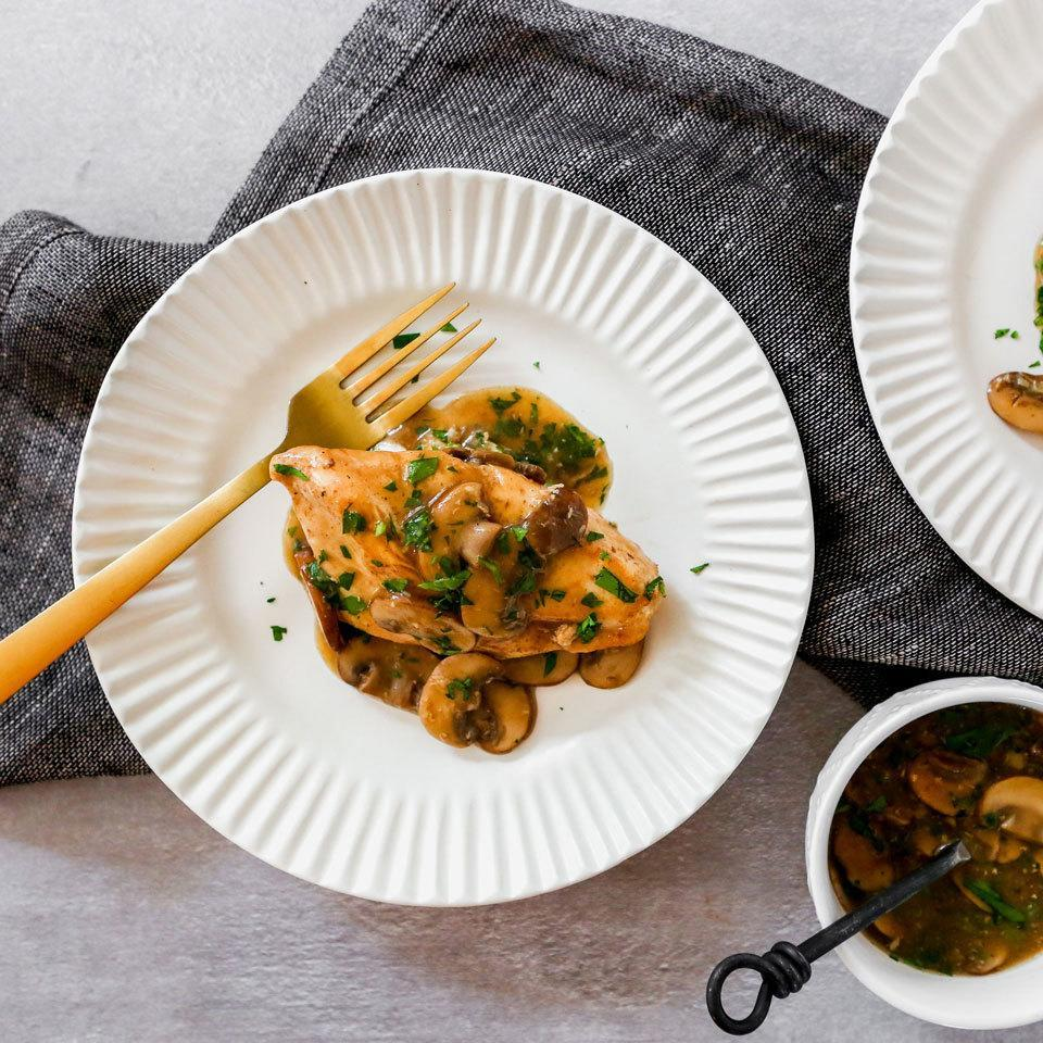 <p>Enjoy classic chicken Marsala on a weeknight with this recipe that comes together fast thanks to the help of a multicooker, like the Instant Pot. Serve over cooked brown rice to sop up any of the extra sauce.</p>