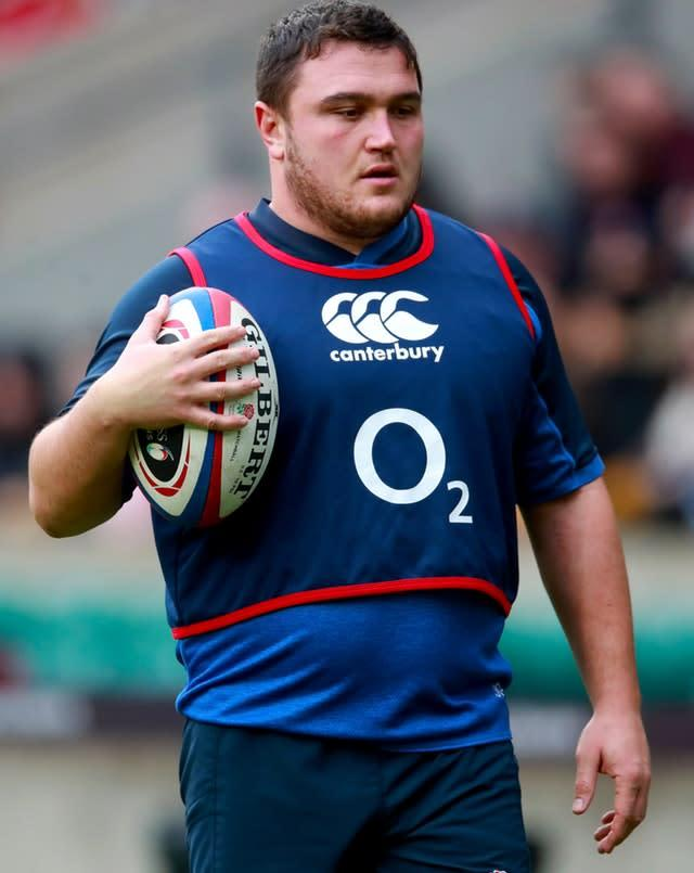 Jamie George has committed his future to Saracens (Adam Davy/PA).
