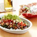 <p>You won't even miss the tortillas when you get one of their burrito bowls, which are packed with flavor. Skip the beans and rice but feel free to load up on cheese or guac instead. Chipotle also has started offering a specific keto bowl, which features carnitas, red salsa, and more cheese and guac. </p>