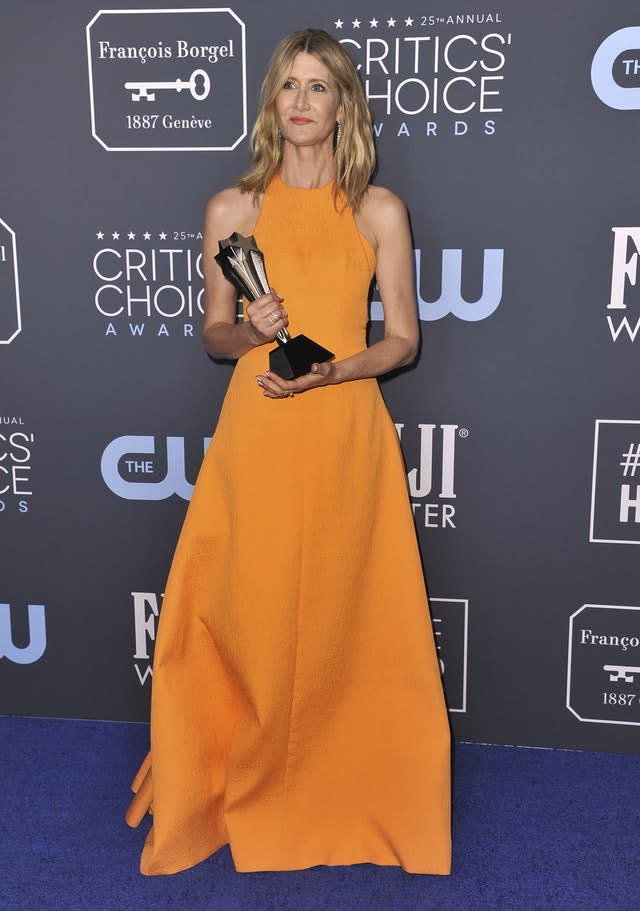 25th Annual Critics' Choice Awards – Press Room