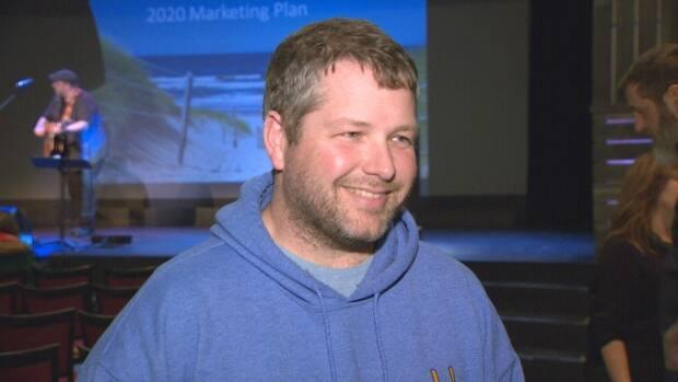Matthew Jelley, president of Maritime Fun Group, says it will take years for his business to return to what it once was pre-pandemic, but he was still excited about borders opening earlier than expected. (Al MacCormick/CBC - image credit)