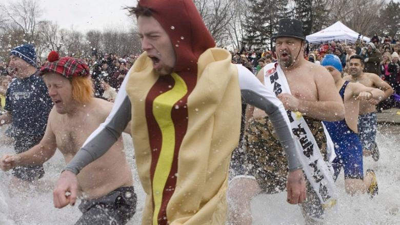 Toronto Polar Bear Dip cancelled over extreme cold, frozen lake