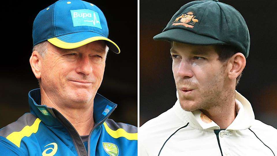 Former Test skipper Steve Waugh thinks Australian captain Tim Paine and the rest of the team became too caught up in game-planning to properly respond to India's play last summer. Pictures: Getty Images
