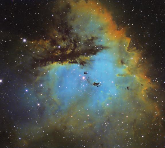 'Pac-Man' Nebula Gobbles Up Space in Stunning Photo