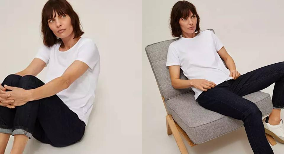 In need of a new white T-shirt? John Lewis cotton tee is only £7. (John Lewis)