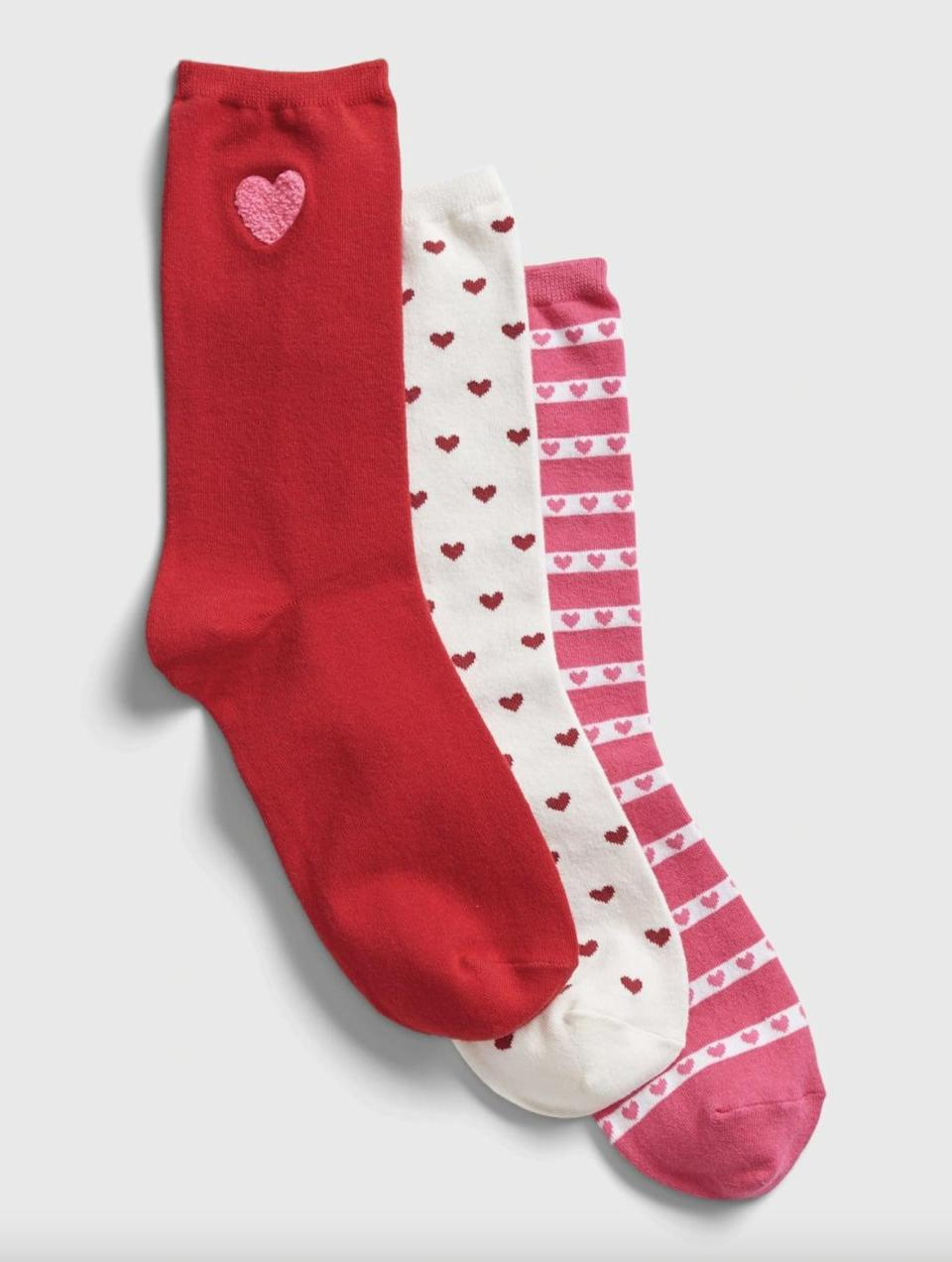 <p>Let these playful <span>Gap Crew Socks</span> ($7, originally $16) peek out from underneath your jeans.</p>