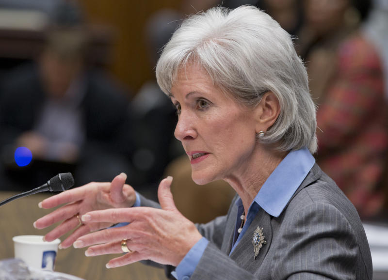 FACT CHECK: A Sebelius dodge at hearing