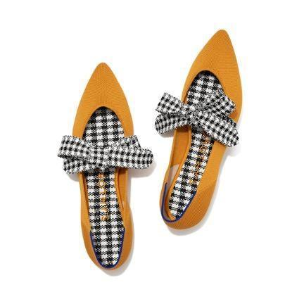 "<h3><a href=""https://rothys.com/products/the-mary-jane-golden-gingham"" rel=""nofollow noopener"" target=""_blank"" data-ylk=""slk:Rothy's Golden Gingham Mary Janes"" class=""link rapid-noclick-resp"">Rothy's Golden Gingham Mary Janes</a></h3><br>These Duchess-approved, <a href=""https://www.refinery29.com/en-us/rothys-mary-jane-pointed-flat"" rel=""nofollow noopener"" target=""_blank"" data-ylk=""slk:eco-friendly flats"" class=""link rapid-noclick-resp"">eco-friendly flats</a> are comfortable, cute, and chic. <br><br><strong>Rothy's</strong> Golden Gingham, $, available at <a href=""https://go.skimresources.com/?id=30283X879131&url=https%3A%2F%2Frothys.com%2Fproducts%2Fthe-mary-jane-golden-gingham"" rel=""nofollow noopener"" target=""_blank"" data-ylk=""slk:Rothy's"" class=""link rapid-noclick-resp"">Rothy's</a>"
