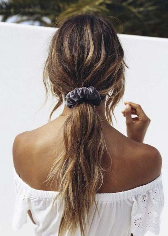 Cuenco: Styling with scrunchies