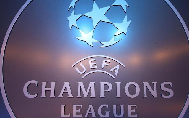 <span>The famous Champions League logo</span> <span>Credit: Reuters  </span>