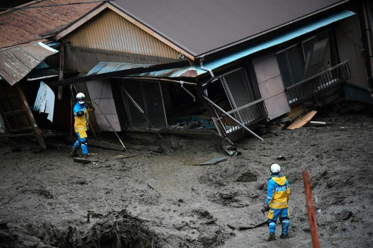 The weather agency forecast more heavy rain in the wider region, warning that more landslides could take place