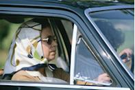 <p>Queen Elizabeth II is the only person in the UK legally allowed to drive around without a license and without plates. The rest of her family can't drive without them. </p>