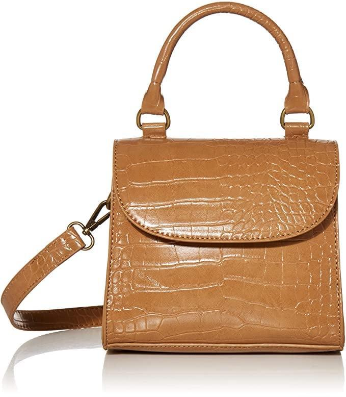 <p>This <span>The Drop Diana Top Handle Crossbody Bag</span> ($40) comes in a few colors.</p>
