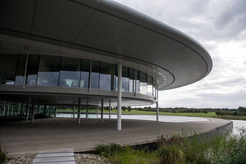 FILE PHOTO: Part of the The McLaren Technology Centre in Woking