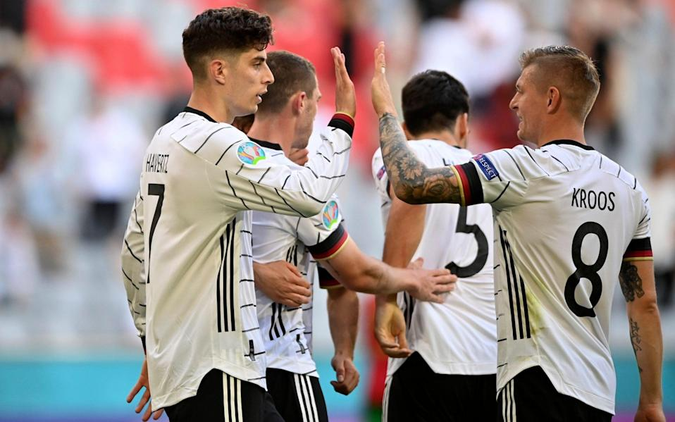 Havertz has been involved in all three of Germany's goals - AP