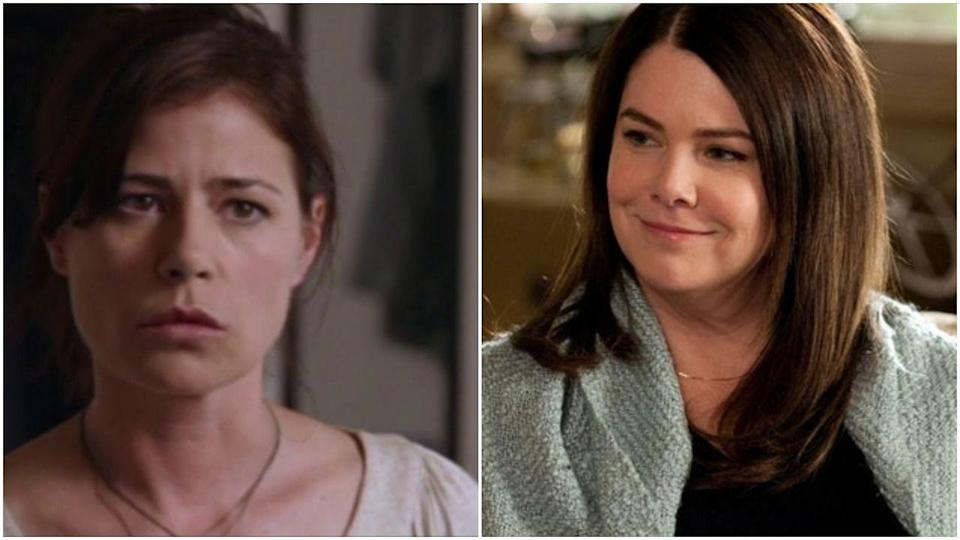 """<p>I know you're currently like, """"Wait...Maura Tierney was literally never on this show,"""" but! She was actually cast as Sarah Braverman on <em>Parenthood</em>'s pilot episode—it just never aired. Maura ended up bowing out for health reasons, and not only did Lauren Graham step in, but she also ended up finding IRL love with Peter Krause. </p>"""