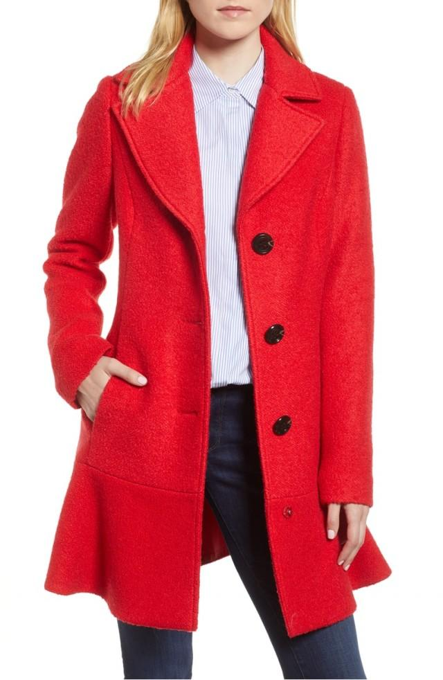 Kensie red coat